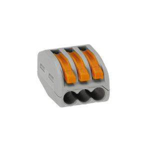 Клеммная колодка без винтов WAGO 3х(0.08-4/2.5)кв.мм