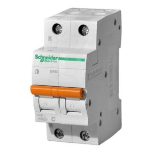 Автоматический выключатель Домовой ВА63 2Р 63А Schneider Electric