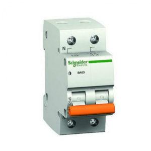 Дифференциальный автомат АД63 2мод. 2P 40А 30mA С Schneider Electric Домовой