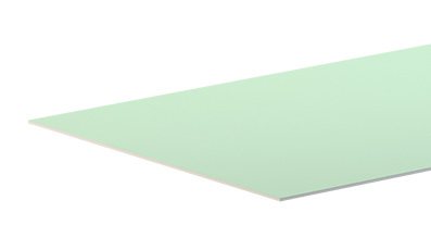 ГКЛВ Гипсокартон влагостойкий Аксолит 3000х1200х12,5 мм (49л)
