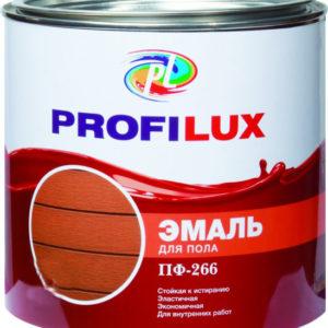 Эмаль ПФ-266 Профилюкс для пола золотисто-коричневая 20 кг
