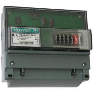 Счетчик трехфазный однотарифный электронный Меркурий-231АМ-01, 5-60А