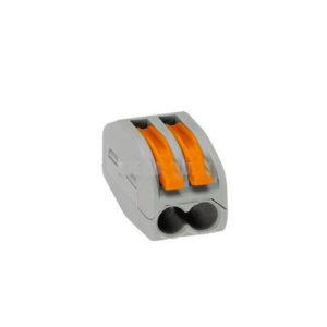 Клеммная колодка без винтов WAGO 2х(0,08-4/2,5) кв.мм