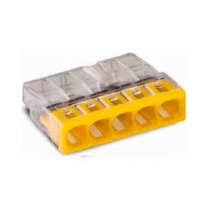 Клеммная колодка с пастой WAGO 5х(0.5-2.5)