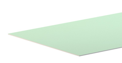 ГКЛВ Гипсокартон влагостойкий Аксолит 2500х1200х9,5 мм (63л)