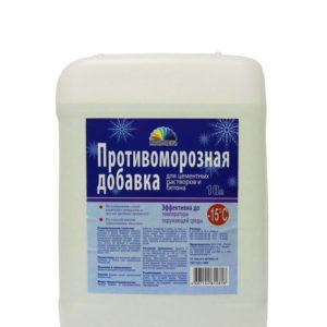 Антиморозная добавка РАДУГА 5 л (Формиат натрия до -15С)