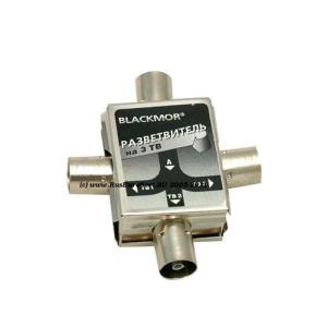 Разветвитель антенный BLACKMOR MK84/Dori 2302 4TV (5-1000MHz) на F-стандарт