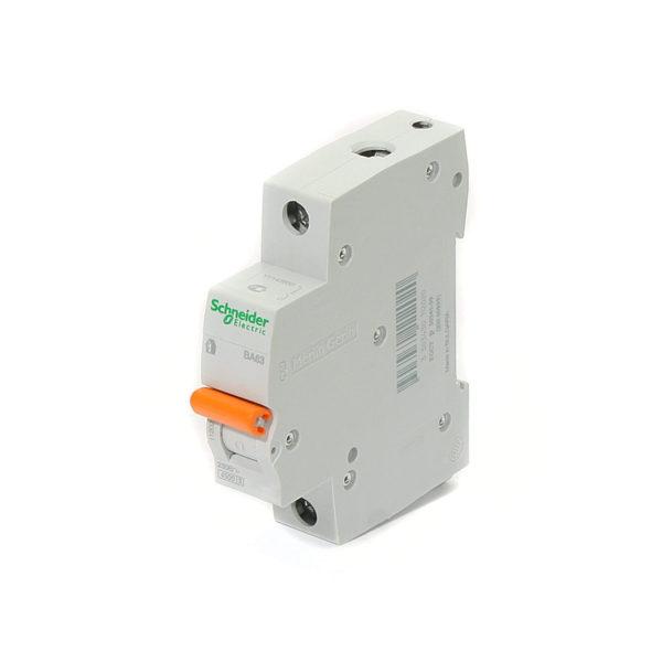 Автоматический выключатель Домовой ВА63 1P 20А Schneider Electric
