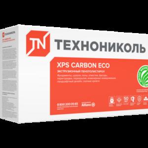 ТЕХНОНИКОЛЬ CARBON ECO 1180х580х50 мм экструдированный пенополистирол упаковка 8шт/ 0,274 м3