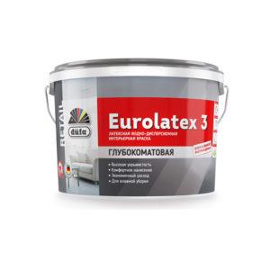 Краска Dufa Retail ВД EUROLATEX 3 2,5 л