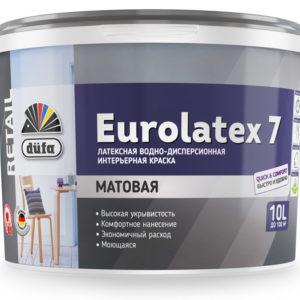 Краска Dufa Retail ВД EUROLATEX 7 10л