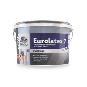 Краска Dufa Retail ВД EUROLATEX 7 2,5 л