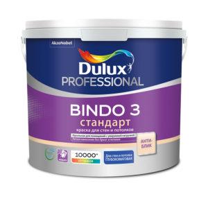 Краска Dulux Bindo 3 латексная 4,5 л