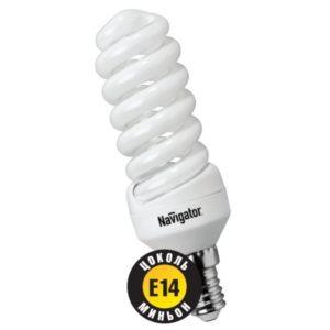 Лампа энергосберегающая SF E14-15W-840 Jazzway