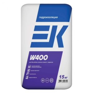 Гидроизоляция ЕК W 400 15 кг