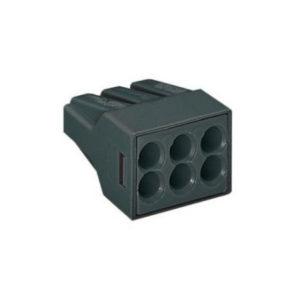 Клеммная колодка 6х(0,75-2,5) кв.мм 773-306 WAGO