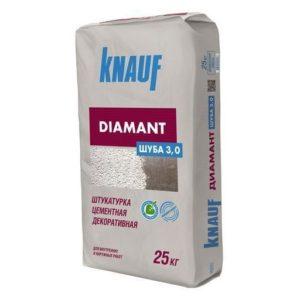 Штукатурка цементная Кнауф Диамант Шуба 3,0 мм 25 кг