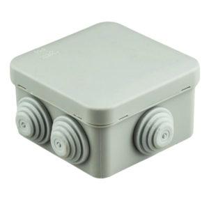 Коробка распределительная о/п квадратная 6 вводов IP55 100х100х50 мм Schneider Electric