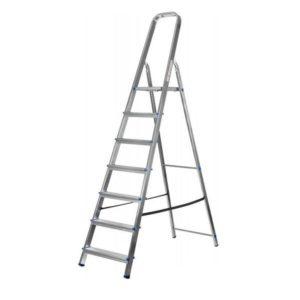 Лестница-стремянка СИБИН алюминиевая 7 ступени 145 см