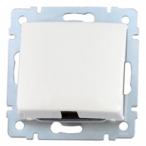 Механизм обрамления для кабельного ввода белый VALENA