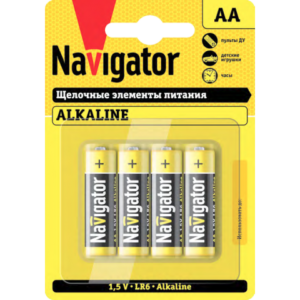 Элемент питания 1,5Вт Navigator тип АА