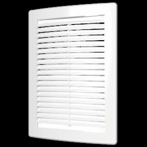 Решетка вентиляционная 200х300 мм вытяжная пластиковая АБС ЭРА