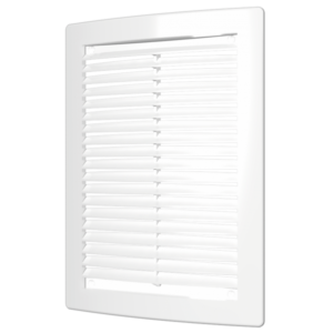 Решетка вентиляционная 180х250 мм вытяжная пластиковая АБС ЭРА