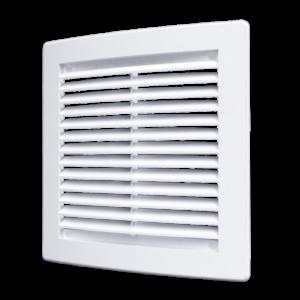 Решетка вентиляционная 150х150мм вытяжная пластиковая АБС ЭРА