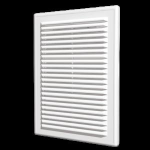 Решетка вентиляционная 180х250 мм с съемной панелью пластиковая ЭРА