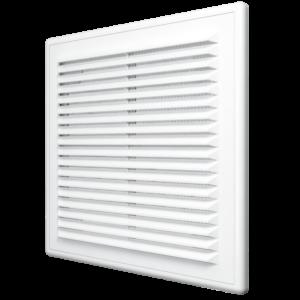 Решетка вентиляционная 210х210 мм с съемной панелью пластиковая ЭРА