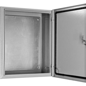 Щит металлический навесной ЩМП-2-1 с монтажной панелью 500х400х150 TDM