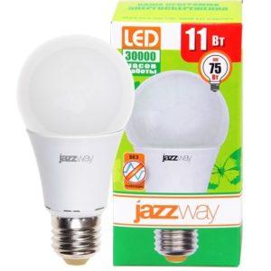 Лампа светодиодная Jazzway PLED-ECO A60 11w Е27 5000K 880Лм