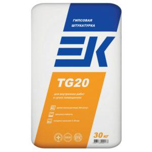 Штукатурка гипсовая ЕК TG 20 30 кг