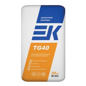 Штукатурка гипсовая ЕК TG 40 White 30 кг