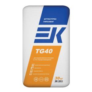 Штукатурка гипсовая ЕК TG 40 30 кг