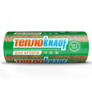 ТеплоКНАУФ Для КРОВЛИ Термо Ролл 037 (6148х1220х50мм)х2 15 м2/0,75 м3/16 кг/м3 паллет 30 шт