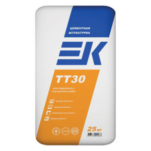 Штукатурка цементная ЕК TТ 30 25 кг