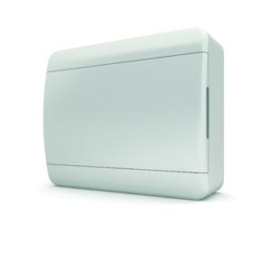 Щит пластиковый распределительный навесной 12 мод IP41 белая дверца Tekfor