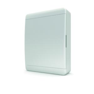 Щит пластиковый распределительный навесной 24 мод IP41 белая дверца Tekfor