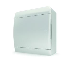 Щит пластиковый распределительный навесной 8 мод IP41 белая дверца Tekfor