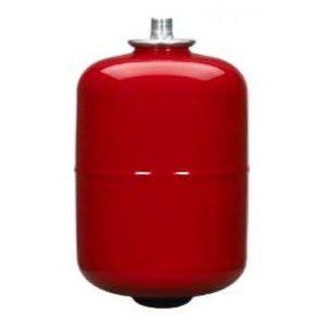 Бак расширительный 8л мембранный для отопления красный VAREM East