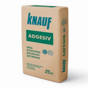 Штукатурка для обрызга адгезионная КНАУФ-Адгезив 25 кг