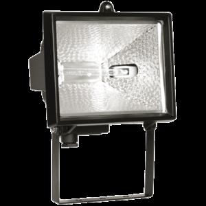 Прожектор галогеновый черный IP54 ИО150 ИЭК