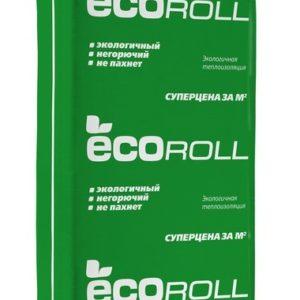 Экоролл (Плита) 040 (1230х610х100мм) 6 м2/0,6 м3/13 кг/м3 паллет 48 шт