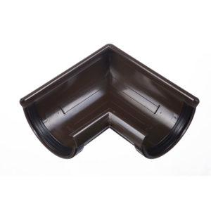 Элемент угловой Lux 90°  Шоколад D=141 Деке (Docke)