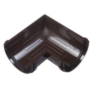 Элемент угловой 90° Шоколад D=120 Деке (Docke)
