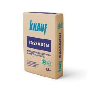 Сухая смесь на основе цемента КНАУФ-Фассаден 25 кг