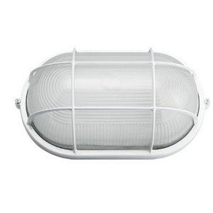 Светильник пылевлагозащищенный 1x60Вт(Е27) IP54 круг. решотка 180x115 ИЭК