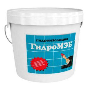 Мастика гидроизоляционная ГидроМЭБ 5 кг