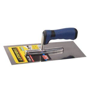 Гладилка STAYER ПРОФИ нержавеющая с двухкомпонентной ручкой 130х280мм